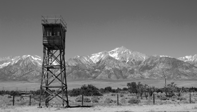 Guard Tower at Manzanar National Historic Site