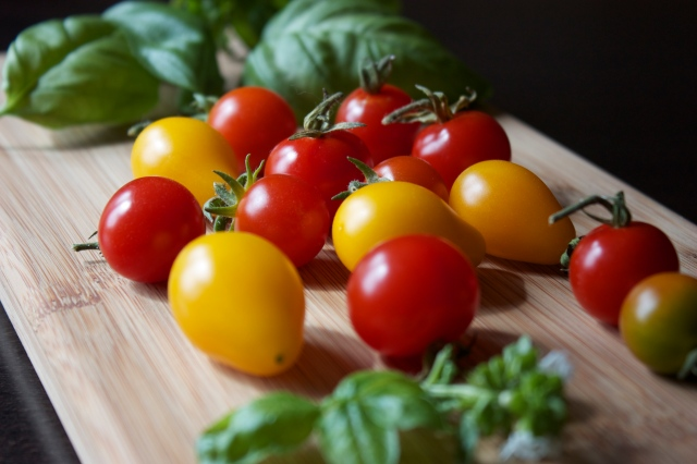 Classic Combination: Basil and Tomatoes