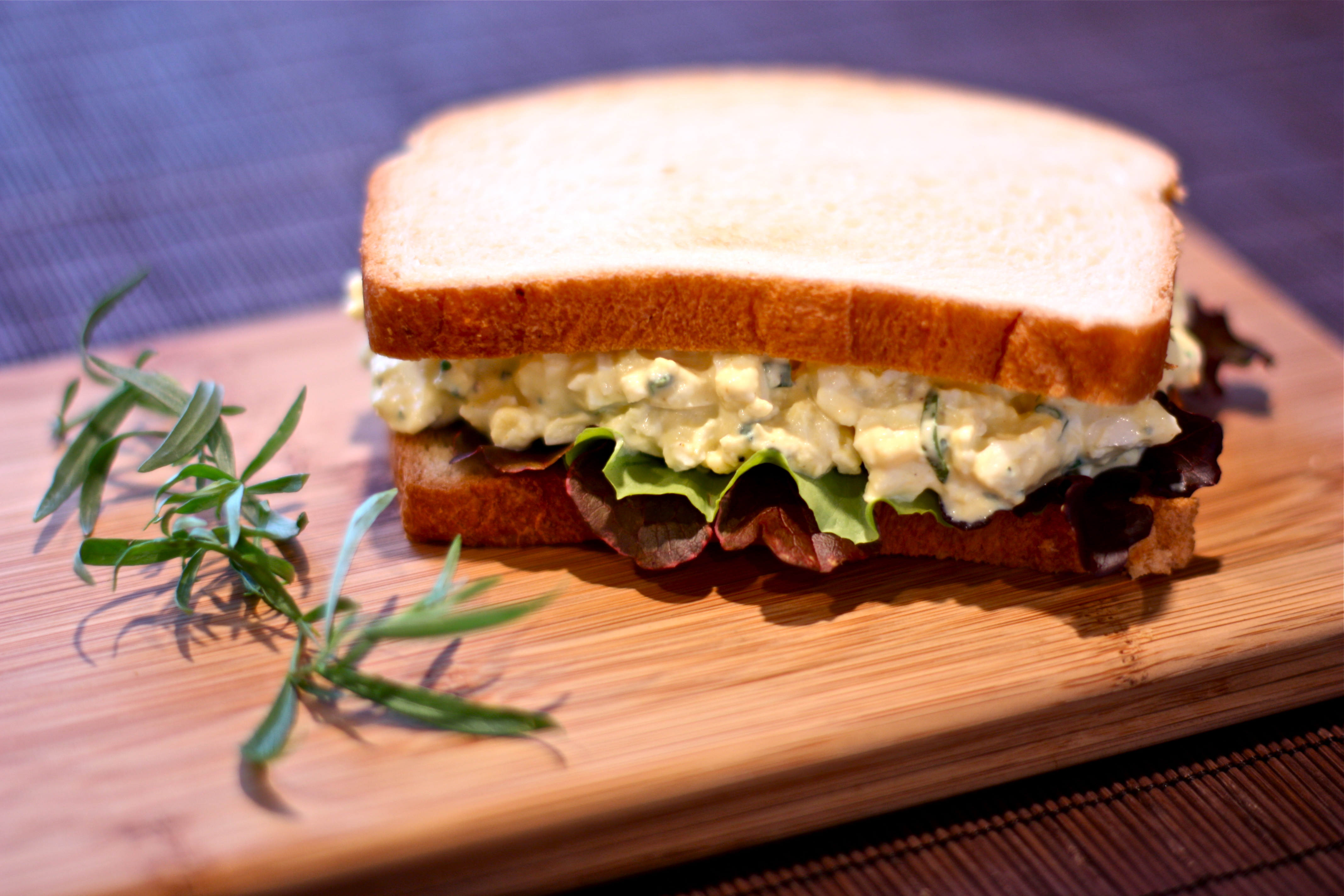 egg salad sandwich | daisy's world