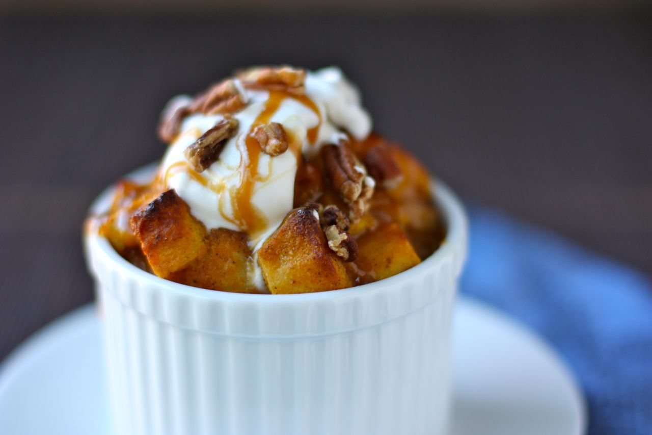pumpkin bread pudding | daisy's world