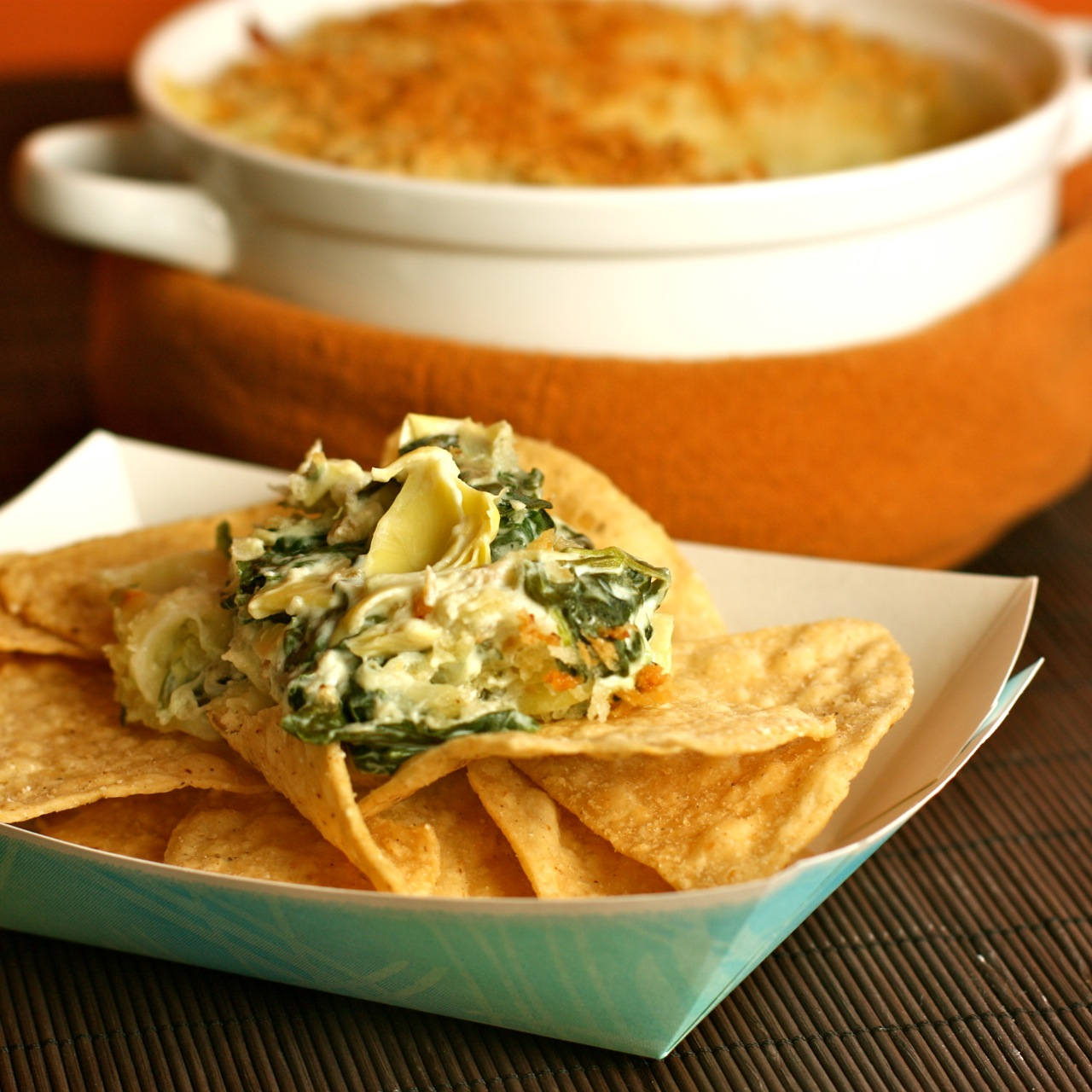 football food: spinach and artichoke dip | daisy's world