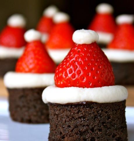 Brownies de Natal