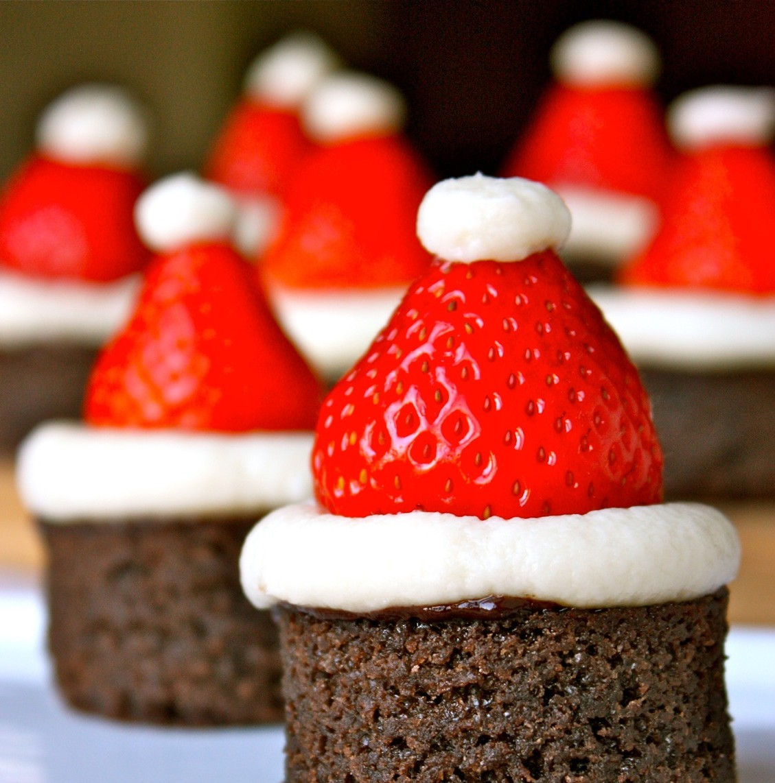 kerst dessert brownie