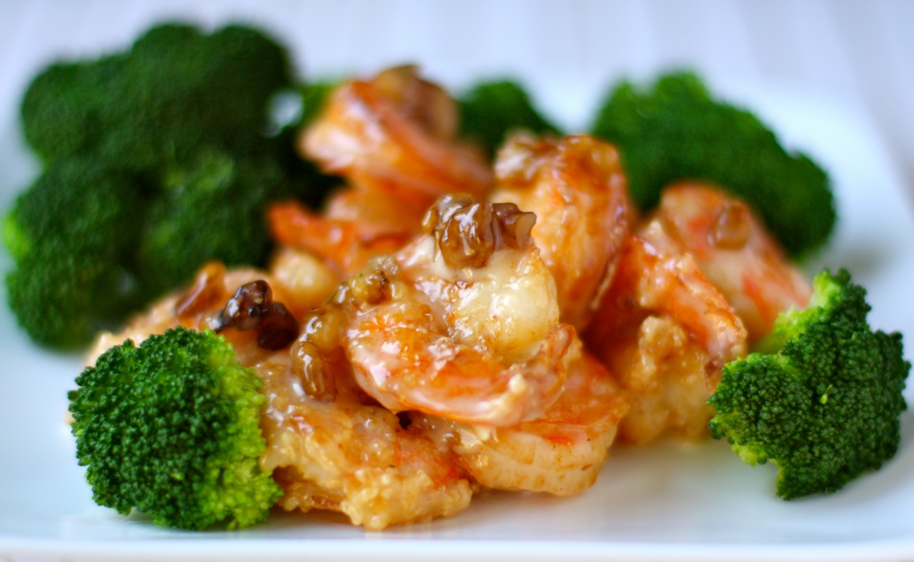honey walnut shrimp | daisy's world