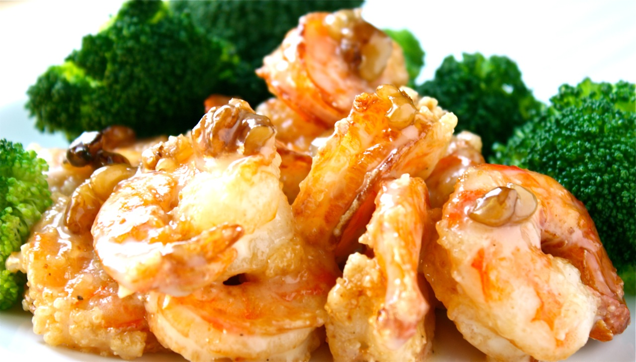 Published January 2, 2012 at 1280 × 729 in honey walnut shrimp