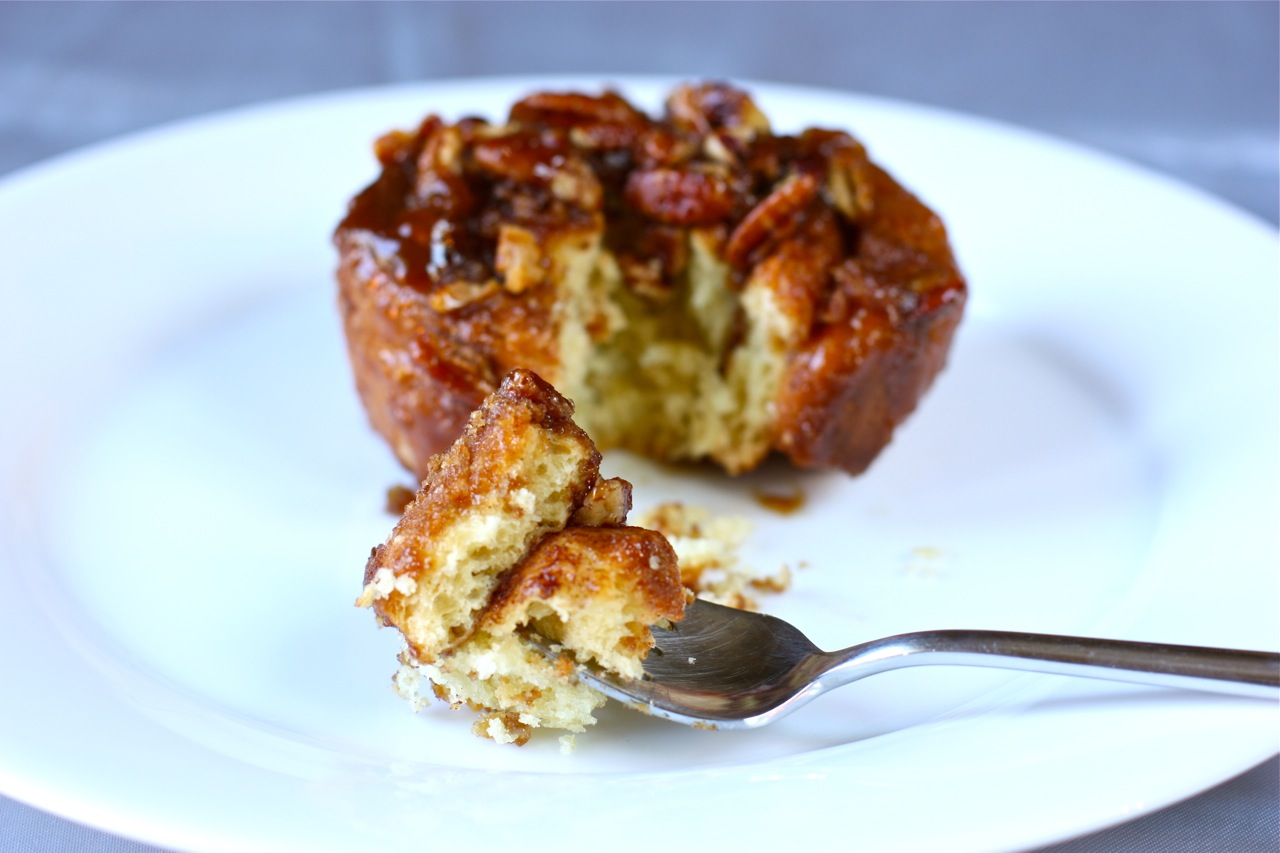 caramel brioche sticky bun | daisy's world