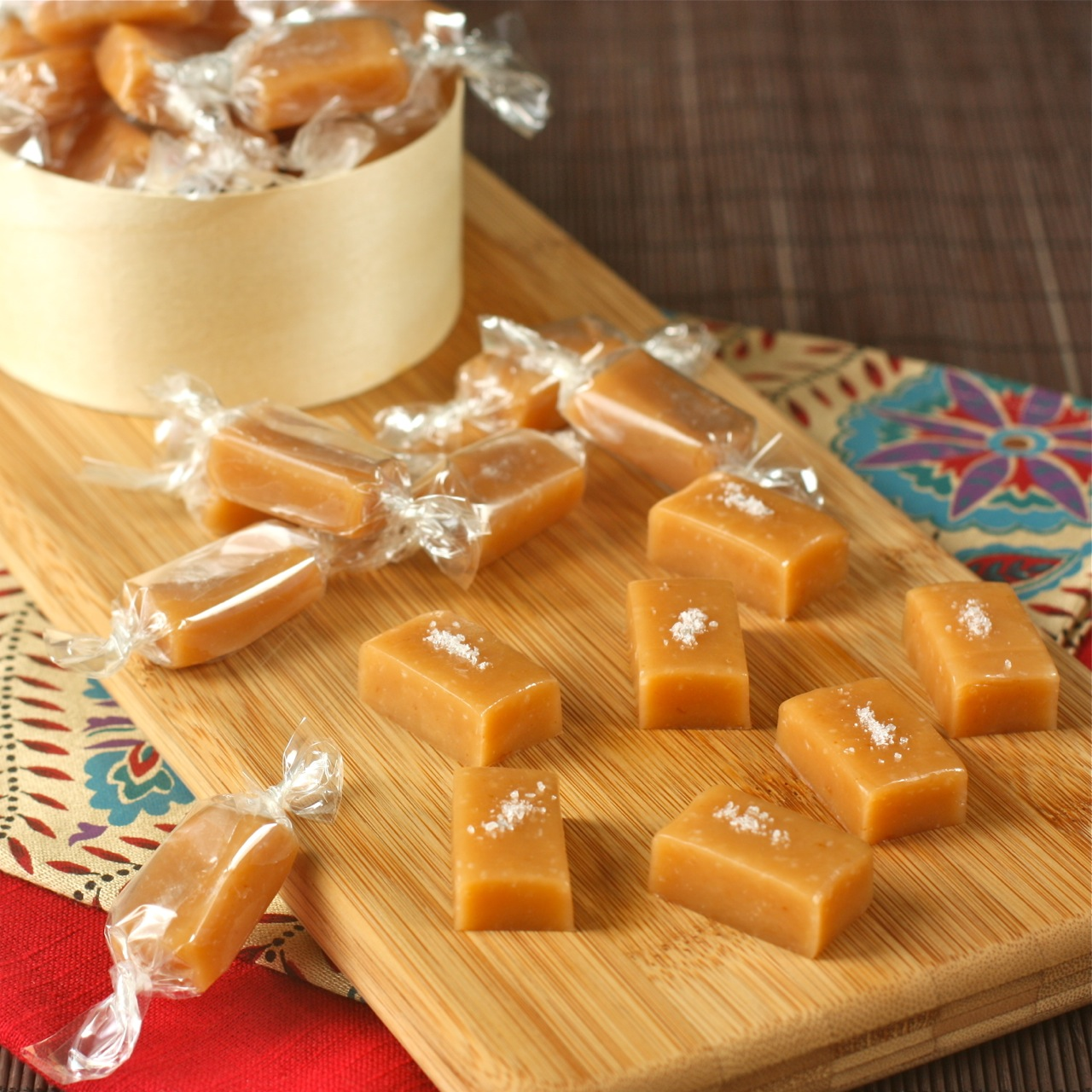 ... and confections – part 1: salted butter caramels | daisy's world