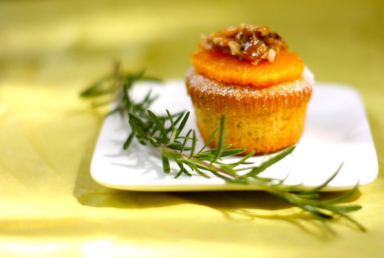 rosemary orange olive oil muffins | daisy's world