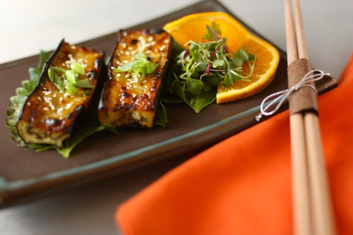 Miso Glazed Eggplant Better Homes And Gardens
