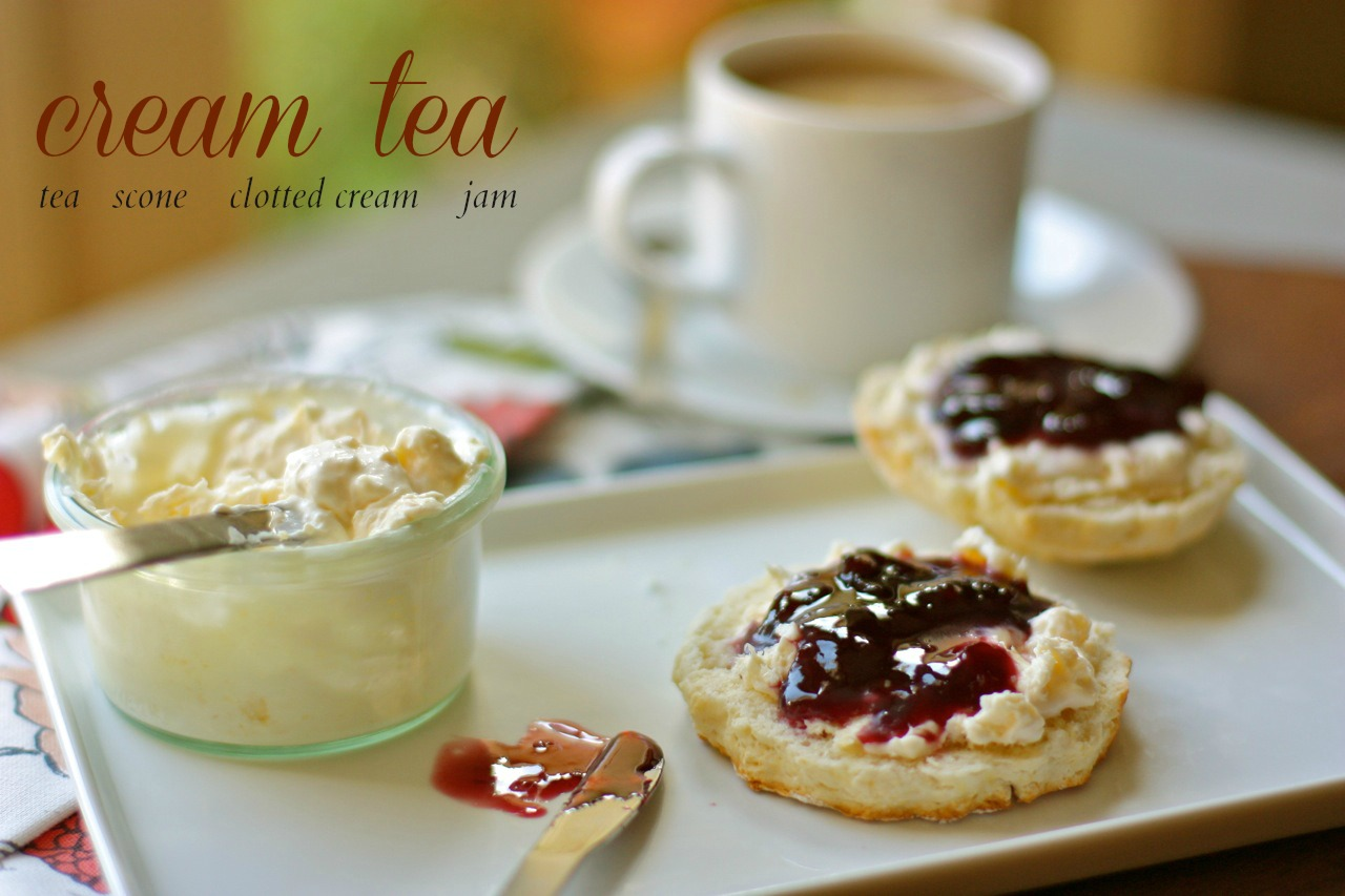 Cream Tea Room Menu