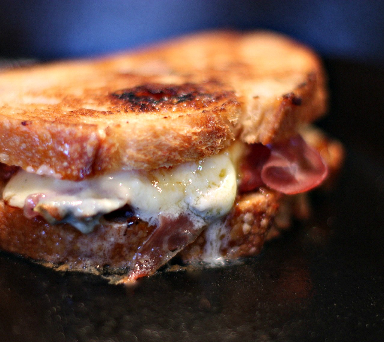 ... keep us warm. What could be better than a grilled cheese sandwich