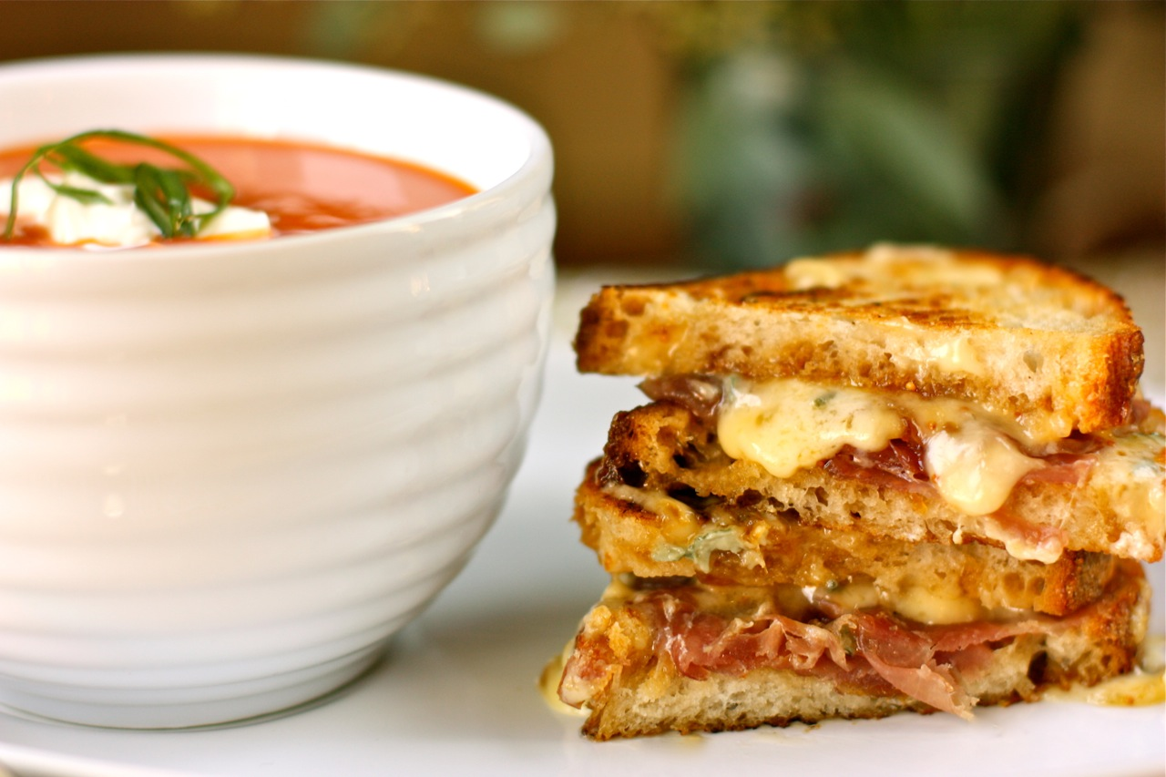 Modern Grilled Cheese   Gourmet Grilled Cheese Sandwich