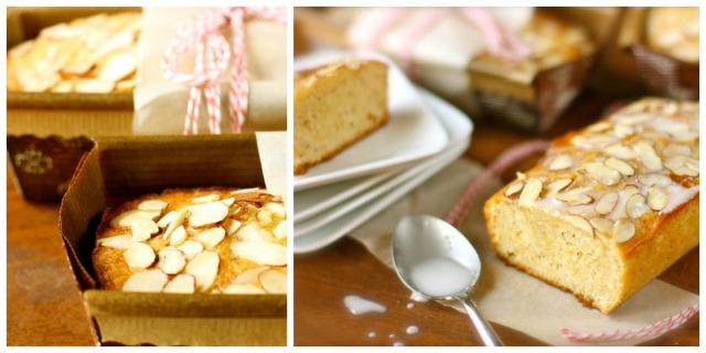 almond bread collage
