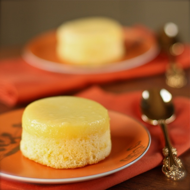 lemon pudding cakes