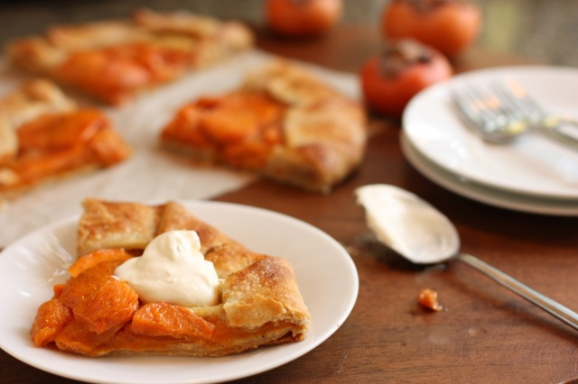 Persimmon Galette