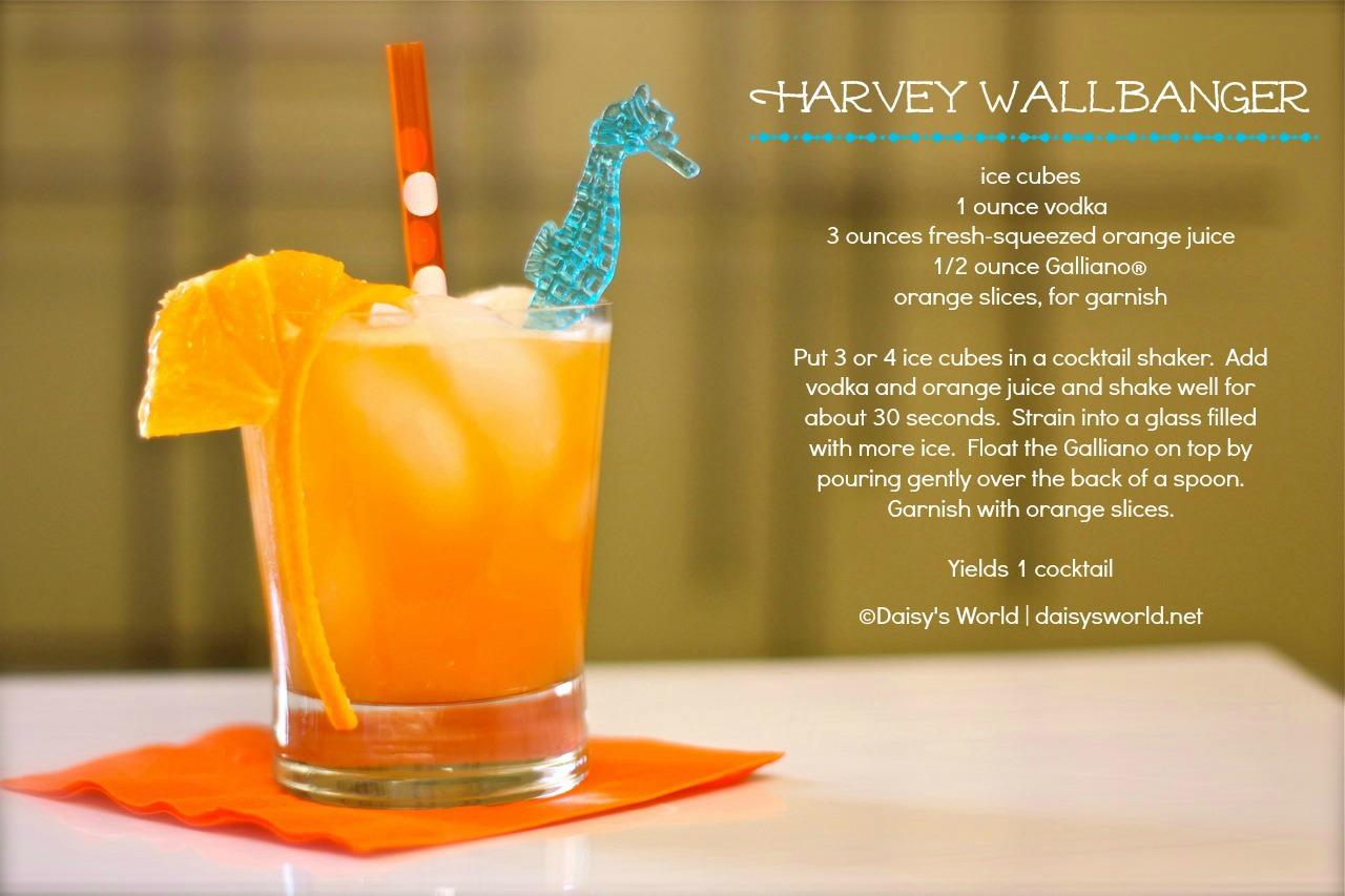 cocktail hour: harvey wallbanger | daisy's world
