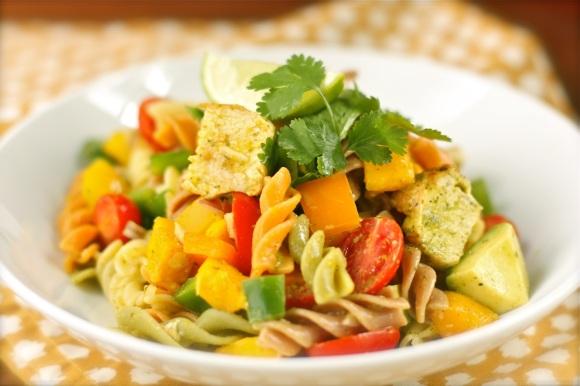 Lime-Cilantro Pasta Salad