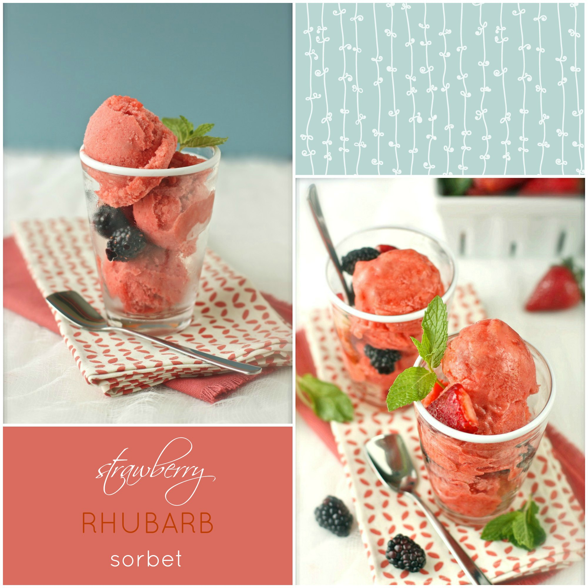 For the full article and recipe for Strawberry-Rhubarb Sorbet , click ...