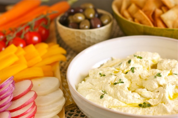 Feta and Lemon Dip