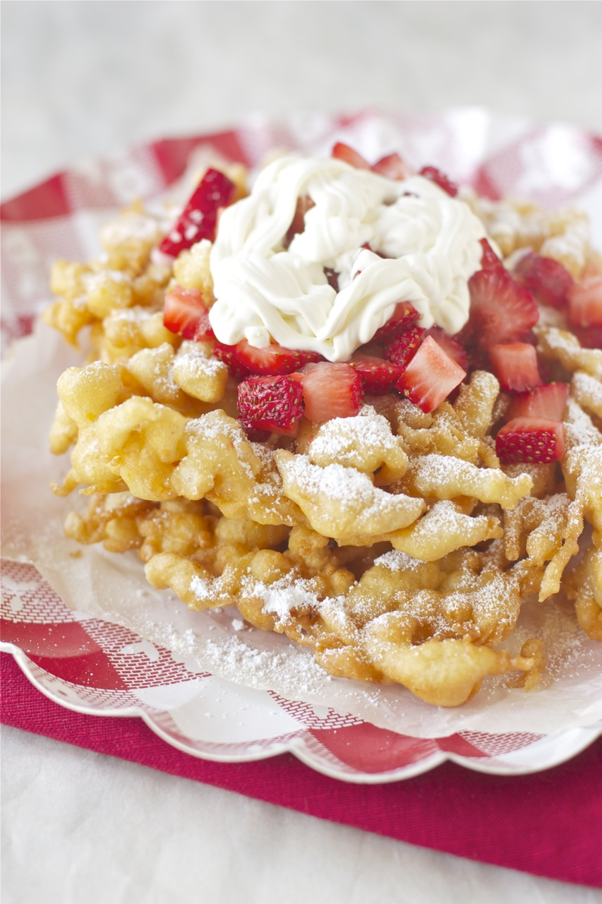 at the county fair: funnel cake | daisy's world