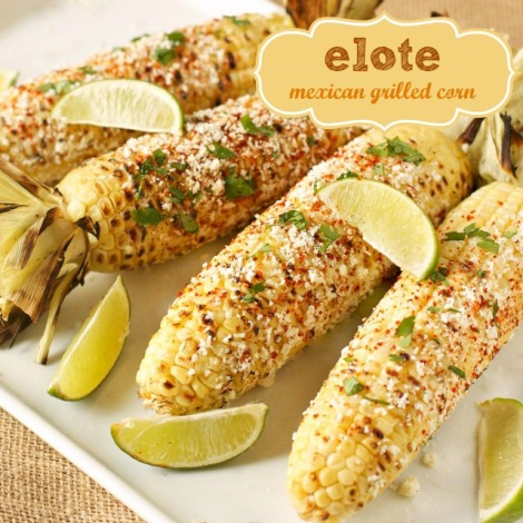 At the Fair: Mexican Grilled Corn
