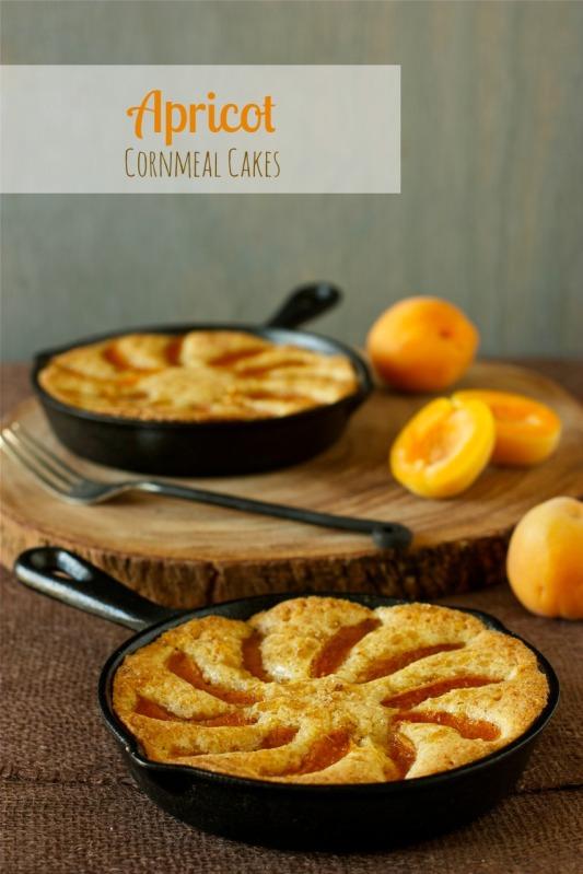 Apricot Cornmeal Cakes