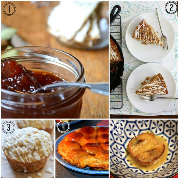 Round-up of Apple Recipes