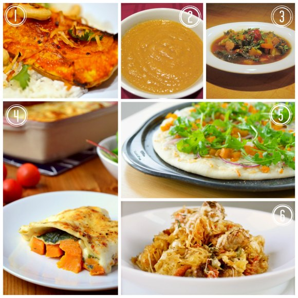 Round-up of Squash Recipes