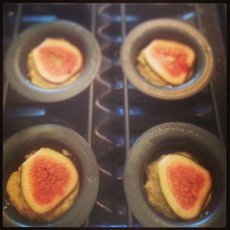 Fig and Orange Honey Cakes