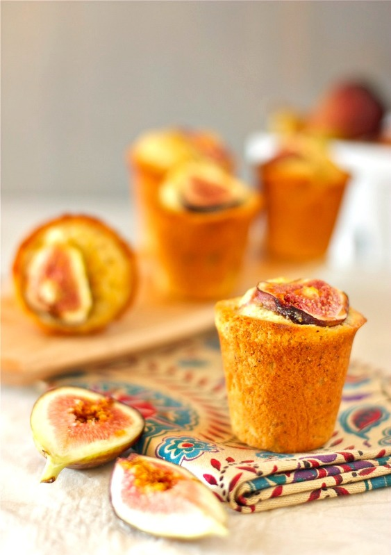 Fig and Orange Honey Mini Cakes