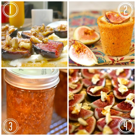 Round-up of Figs Recipes