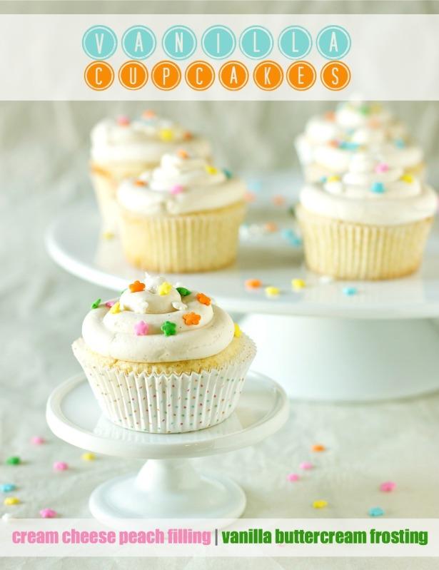 Vanilla Cupcakes | daisysworld.net
