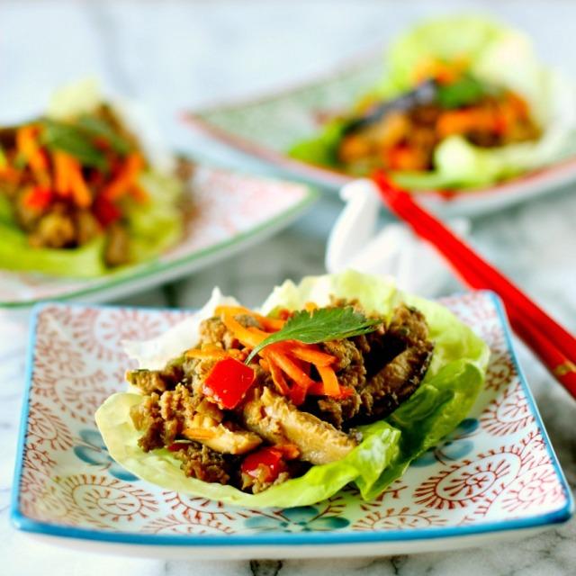 Asian-Style Lettuce Wraps | daisysworld.net